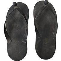 Kapstok metalen blackwash slippers - set 2