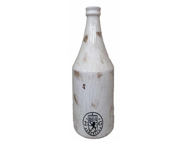 GeWoon Witte fles - Muntstuk