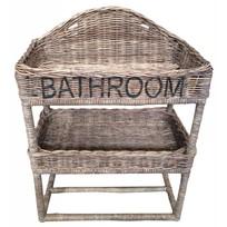 Rieten badkamerrek - Bathroom
