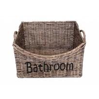 Rieten badkamermand M - Bathroom