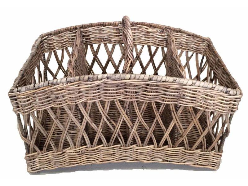 GeWoon Rieten lectuurmand - Weaving