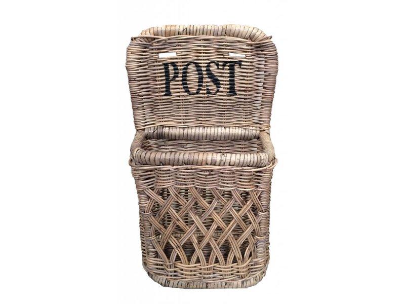 GeWoon Rieten Posthouder S - Post