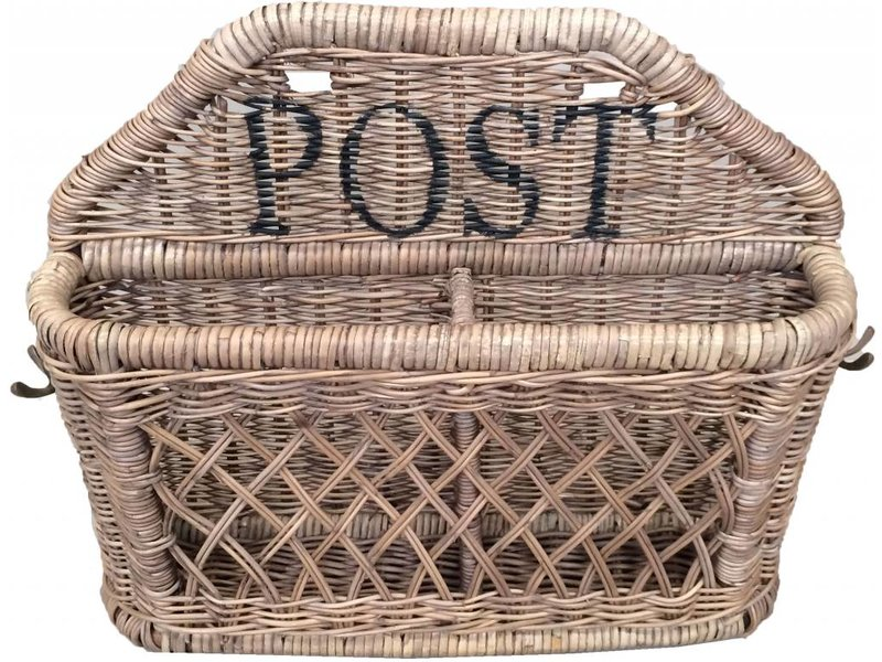 GeWoon Rieten posthouder L - Post