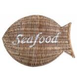 GeWoon Rieten placemat - Seafood
