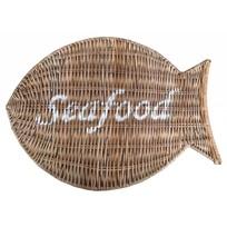 Rieten placemat - Seafood