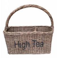 Rieten mand - High Tea