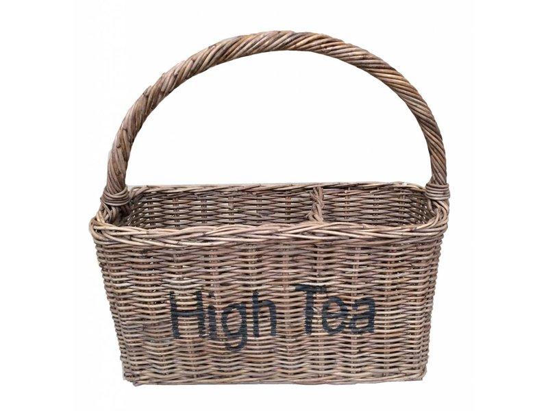 GeWoon Rieten mand - High Tea