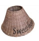 GeWoon Bruine rieten lampenkap - Sweet Home