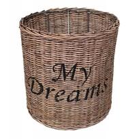 Ronde rieten hanglampenkap - My Dreams