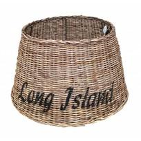 Grote ronde rieten hanglampenkap - Long Island