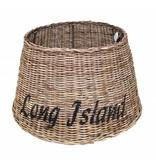 GeWoon Grote ronde rieten lampenkap - Long Island