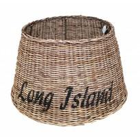 Grote ronde rieten lampenkap - Long Island