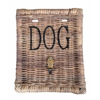 Rieten hondenriemhanger - Dog
