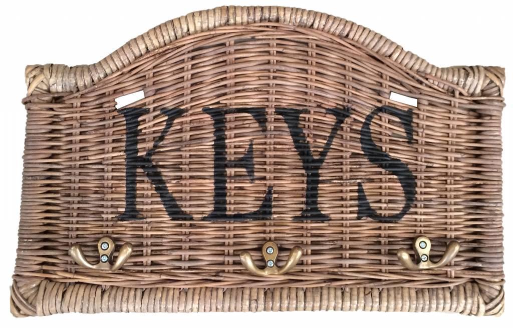GeWoon Rieten sleutelrek - Keys