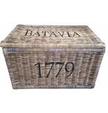 GeWoon Grote rieten mand XL - Batavia 1779