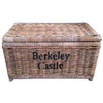 Grote bruine rieten mand XL - Berkeley Castle