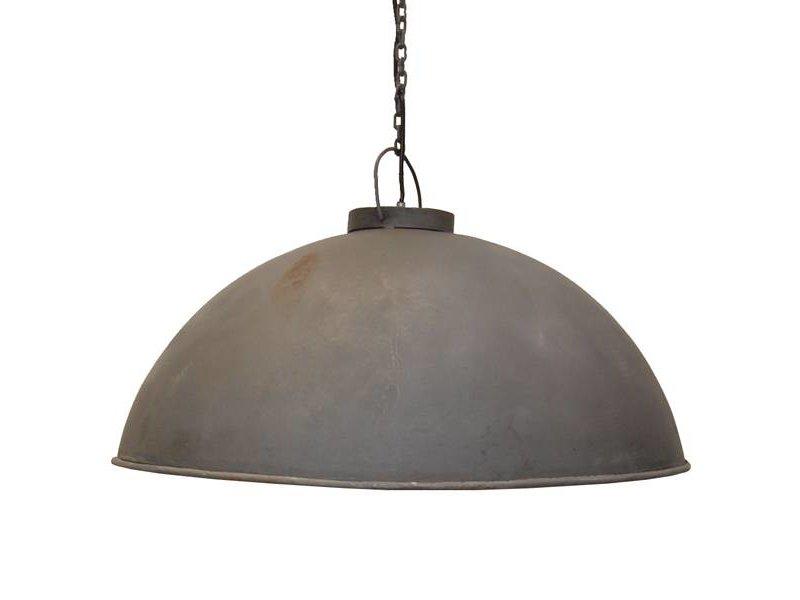 Trademark Living Metalen hanglamp zink - 52 cm