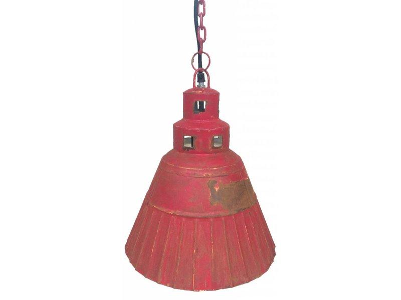 Trademark Living Rode fabrieks hanglamp - 28,5 cm