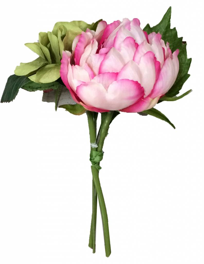 Countryfield Boeket Minesota gemengde bloemen - 20 cm