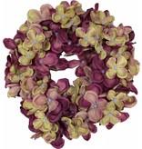 Countryfield Aubergine hortensia kransje 17 cm - New York