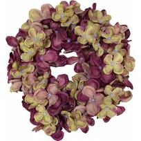 Aubergine hortensia kransje 17 cm - New York