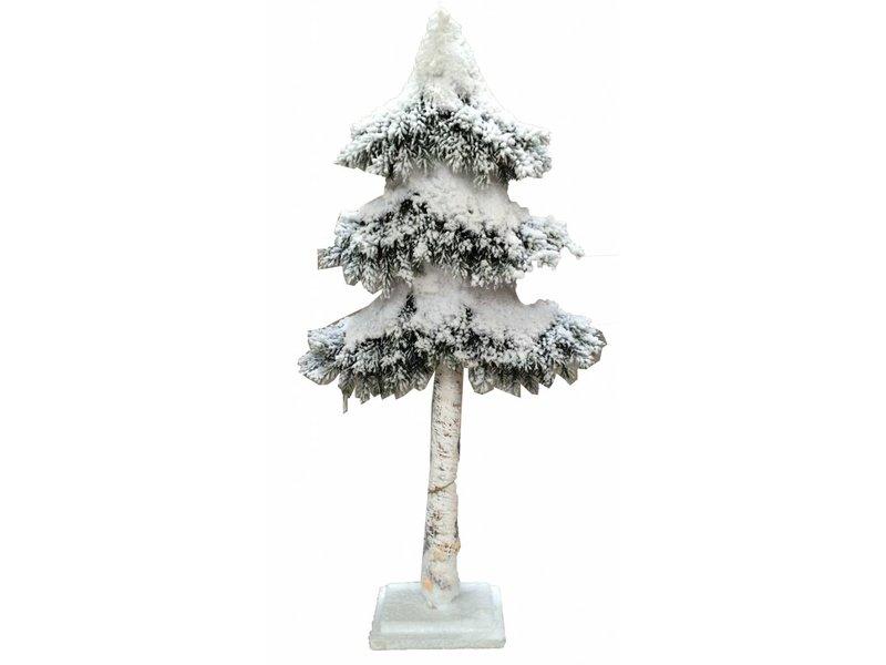 Countryfield Whitewash kerstboom Soddy - 78 cm