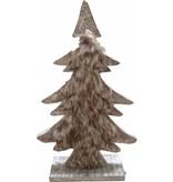 Countryfield Bruine houten kerstboom - Zachow