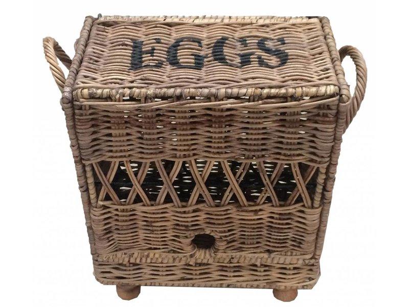 GeWoon Rieten eiermand 12 stuks - Eggs