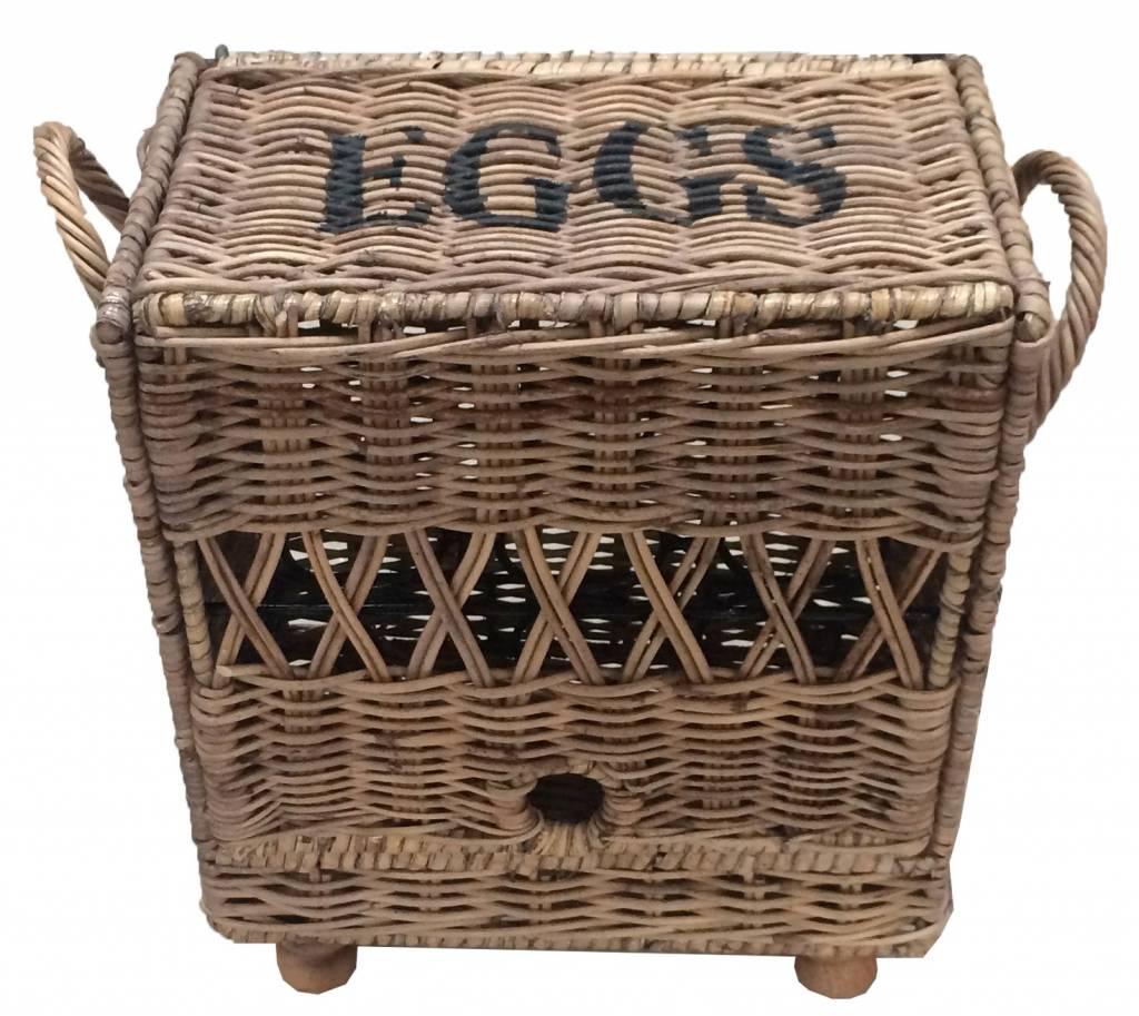 GeWoon Rieten eiermand 12 stuks Eggs