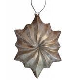 PTMD Collection Koperkleurige kersthanger - Ornament