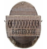 GeWoon Rieten badkamermand Bathroom - 50 cm