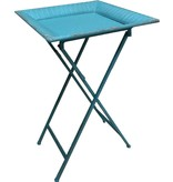 GeWoon Blue metalen butlertray - 46x46xH74 cm