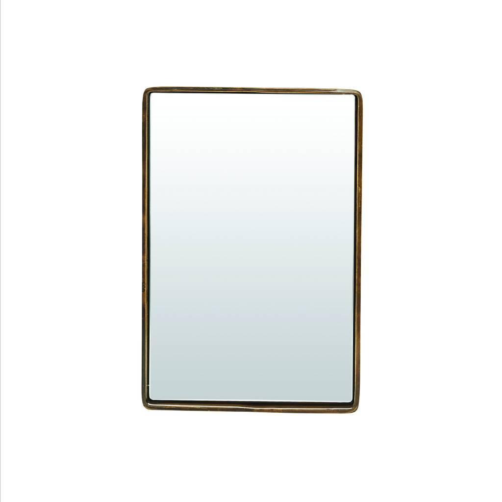 house doctor messing spiegel reflection 30x20x4 cm. Black Bedroom Furniture Sets. Home Design Ideas