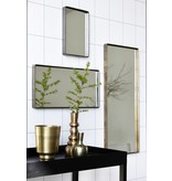 House Doctor Matzwarte spiegel Reflection - 30x20x4 cm