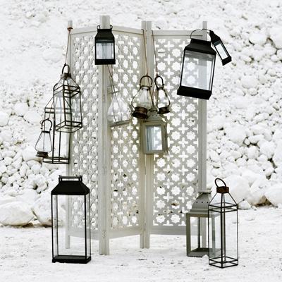 Windlichten en lantaarns
