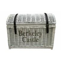 Witte rieten schatkist XL - Berkeley Castle