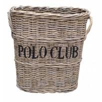 Rieten paraplumand Polo Club - 45x25xH55 cm