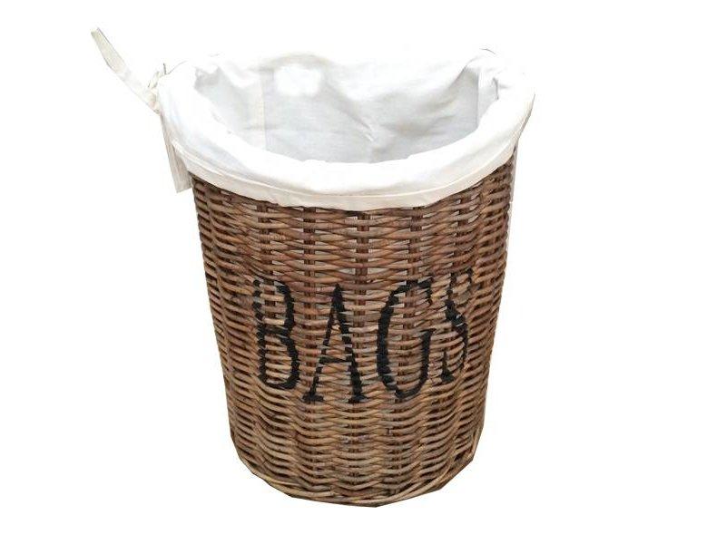 GeWoon Rieten wandmand Bags - H40 cm