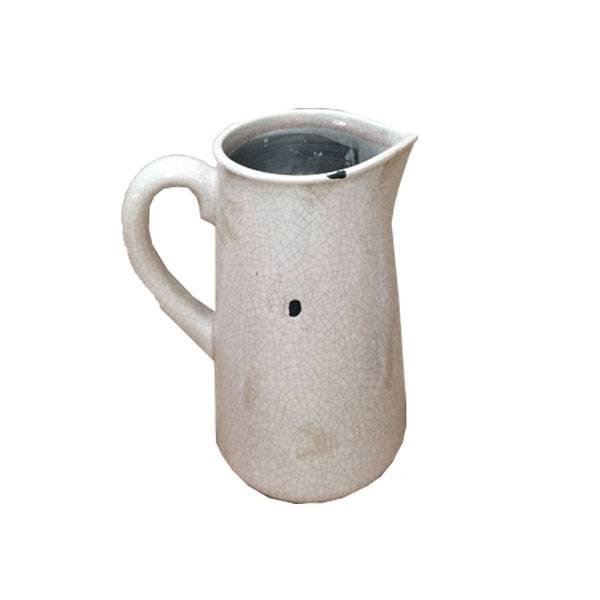 GeWoon Cracele aardewerk kan H23 cm