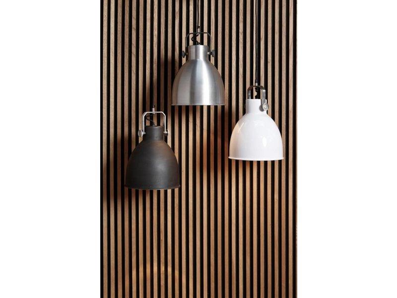 GeWoon Metalen zilver hanglamp - Ø29xH41cm