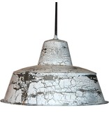 Trademark Living Witte metalen hanglamp - Trendy