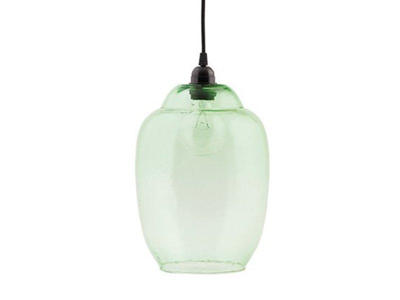 House Doctor Groene glazen lampenkap Goal - 22 cm