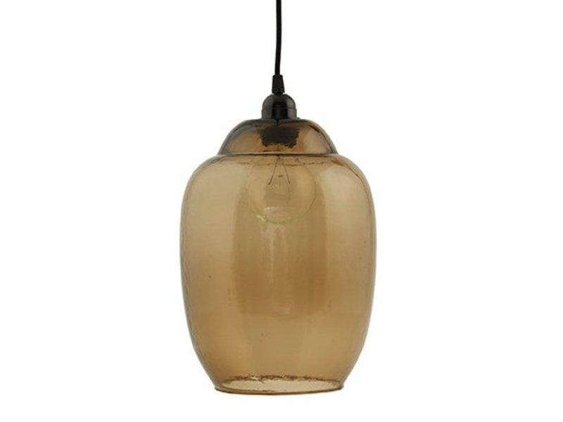 House Doctor Smoked grey glazen lampenkap Goal - 22 cm