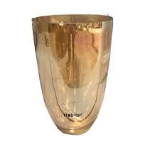Gouden glazen pot Glossy - 26 cm