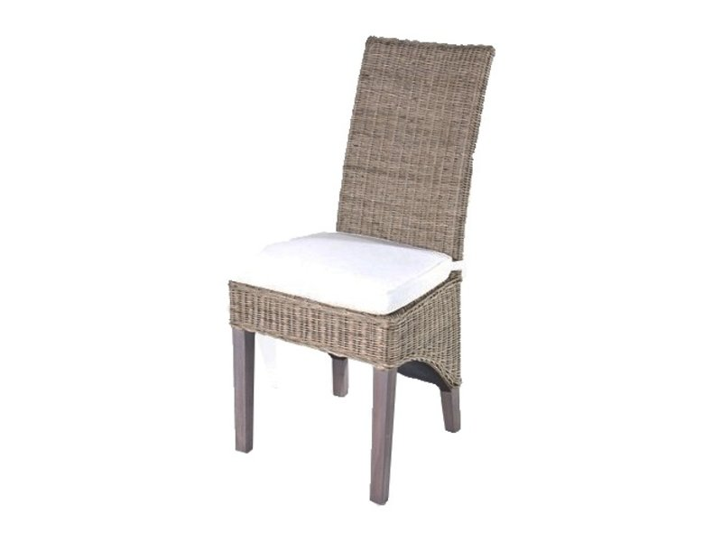 Stoel Rotan Wit : Gewoon rieten stoel hook wit kussen gewoonknus