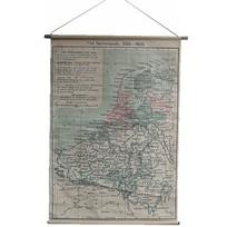 Grote landkaart Nederland - 90x130 cm