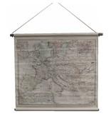 GeWoon Grote landkaart Europa - 90x73 cm