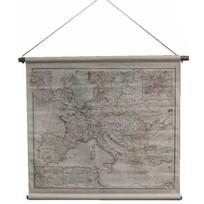 Grote landkaart Europa - 90x73 cm