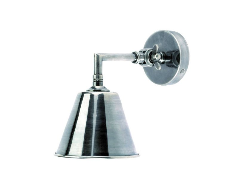 Nordal Antiek zilveren wandlamp - 18x23 cm