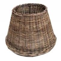 Ronde rieten lampenkap - 27 cm